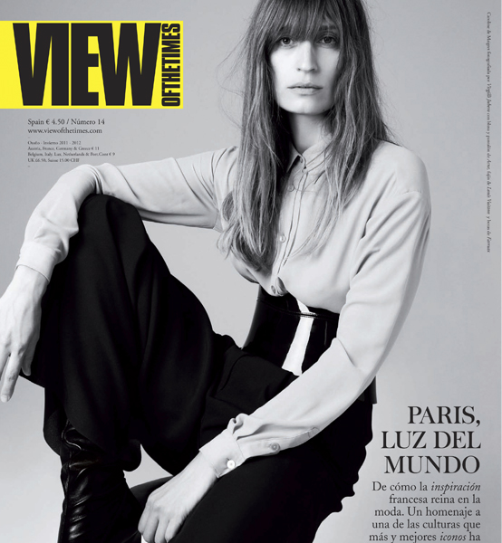 View of the Times. Caroline de Maigret
