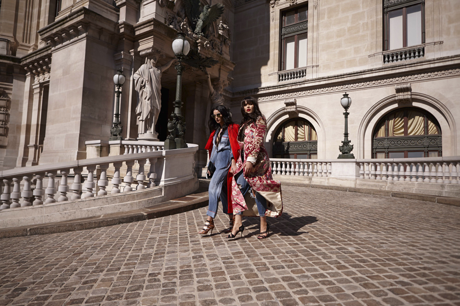 Vogue Spain. Kristina Bazan & Fiona Zanetti