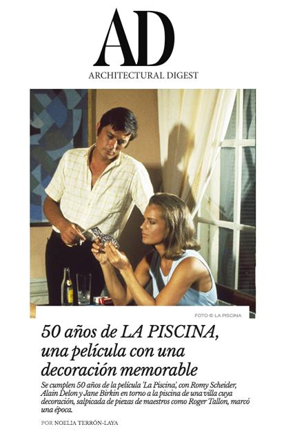 La PIscine Film - Architectural Digest