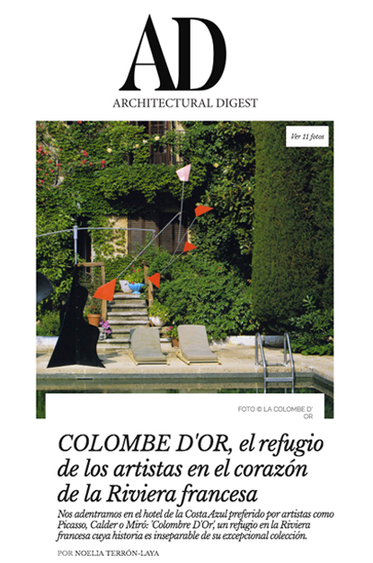 La colombe d'Or - Architectural Digest