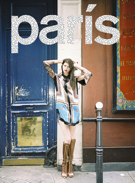 Nylon Magazine. Paris, Je t'aime