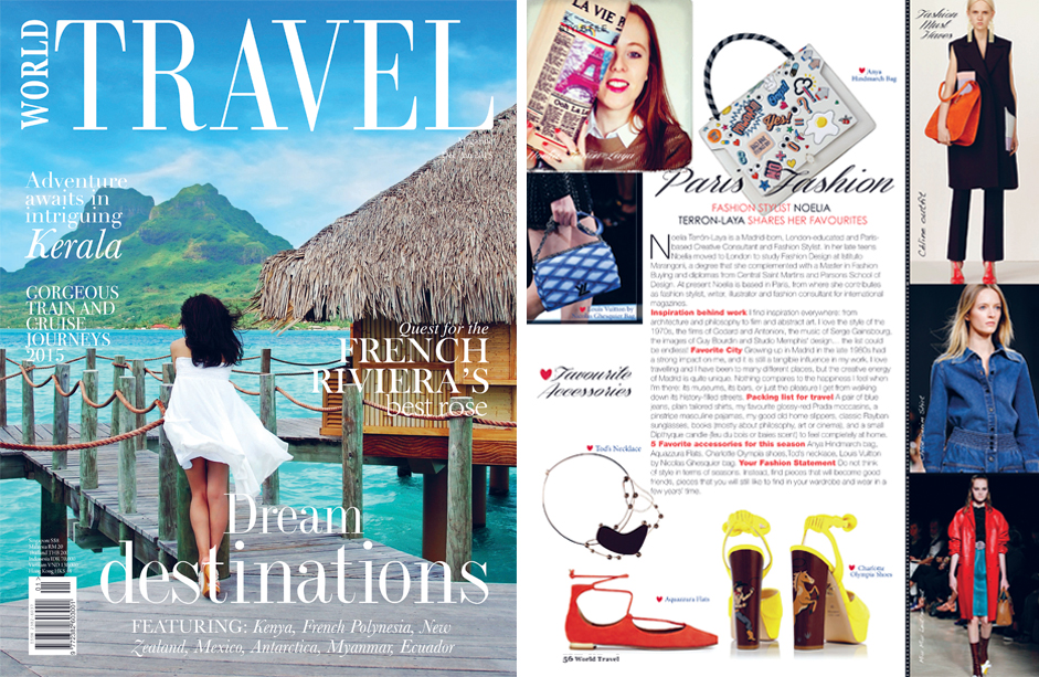 WORLD TRAVEL MAGAZINE (Singapore)