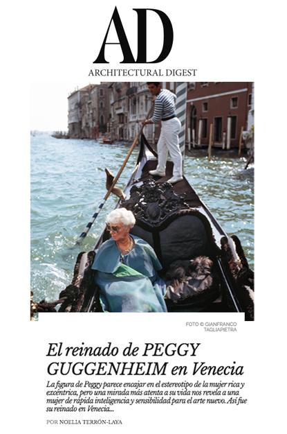 Peggy Guggenheim - Architectural Digest
